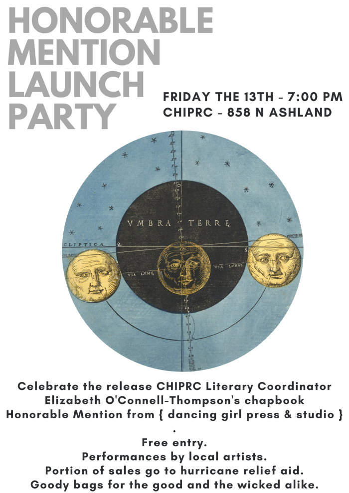 Honorable Mention Launch Poster